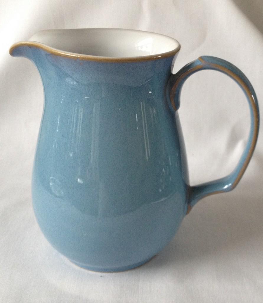 Nivag Crockery: Denby - Colonial Blue: Jug - 6 Inch